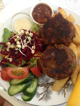 Esk, Australien: Moroccan Vegetable Patties
