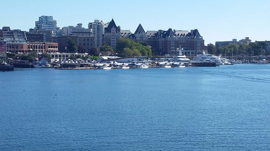 The Pedaler Victoria By Bike: View of the inner Victoria Harbor