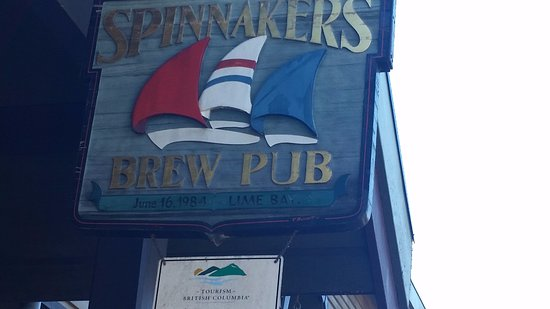 The Pedaler Victoria By Bike: First Pub we visited and where Victoria's brewpubs started.