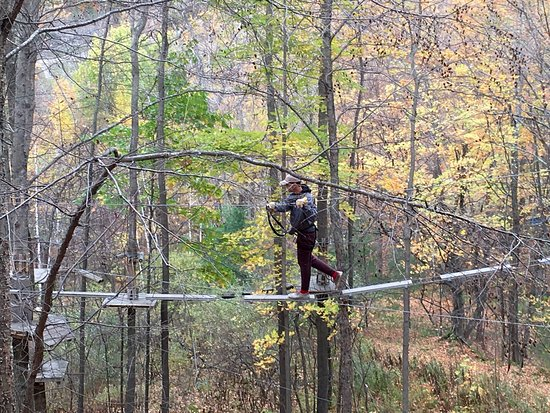 Hillsdale, NY: Catamount Aerial Adventure Park