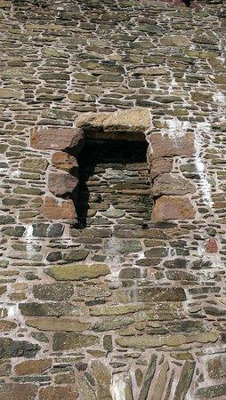 Lochranza, UK: Original castle entrance
