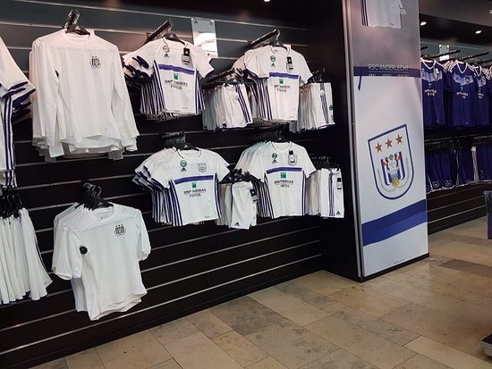 Fanshop RSC Anderlecht