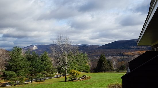 Manchester, VT: Some views from our deck, and the jet tub