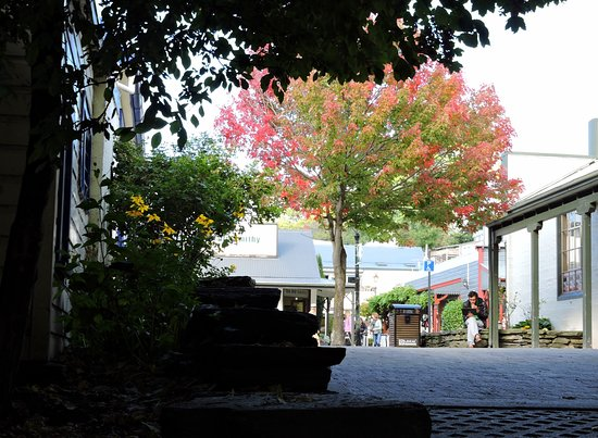 Arrowtown, New Zealand: colores