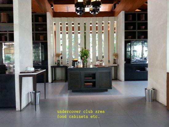 hyatt regency hua hin club food storage area