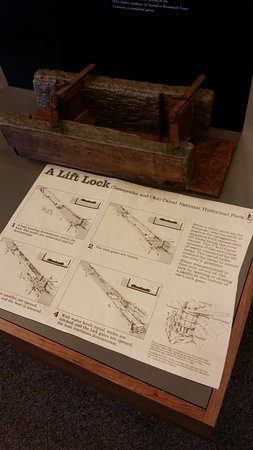 Brunswick, MD: display of the locks in the canals