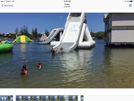 Coolum Beach, Australia: Great big slide