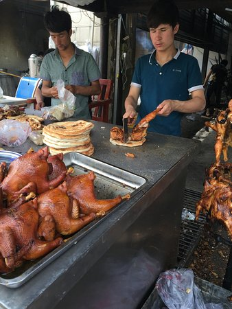 Hotan, Chine : amazing lamb too!