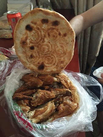Hotan, Chine : the meal!