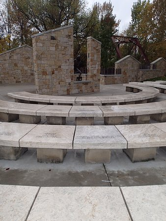 Idaho Anne Frank Human Rights Memorial: Tribute Area