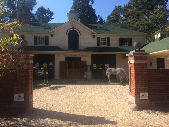 Aiken Thoroughbred Racing Hall of Fame and Museum: Great Re-purposed Historic Stables