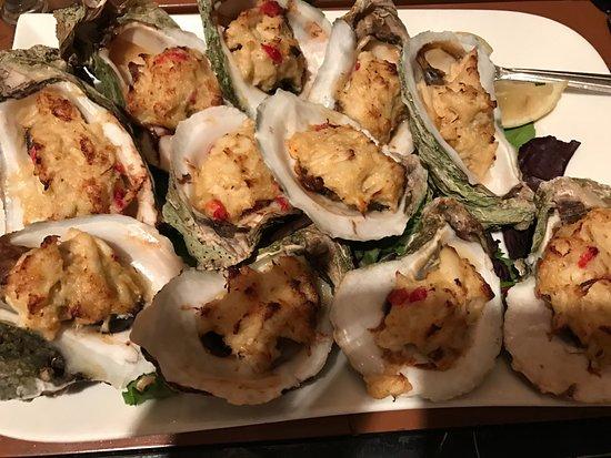 Chesapeake City, MD : Oysters Chesapeake.