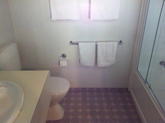 Austria Motel: Bathroom