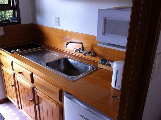 Austria Motel: Kitchen facilities