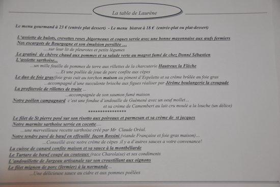 La table de laurene la fleche restaurantbeoordelingen for La table de laurene