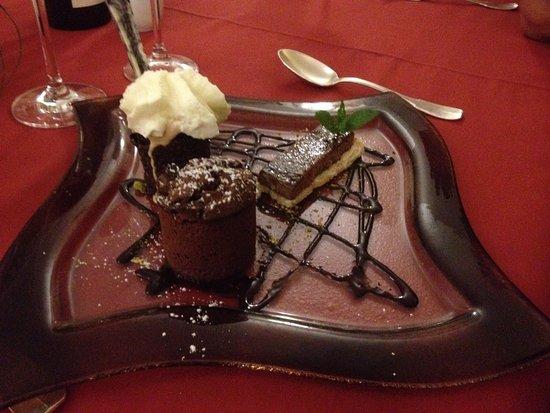 Barcus, Frankrijk: Dessert tout chocolat