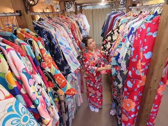 Kyoto Kimono Rental Wargo, Kanazawa Korimbo