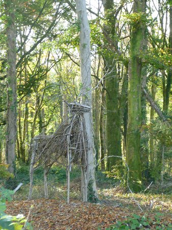 Coole Park : Sculpture in the woods