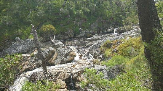Hindmarsh Valley, Australia: Just above Hindmarsh Falls