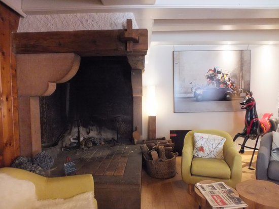 Le Valtin, ฝรั่งเศส: cheminée