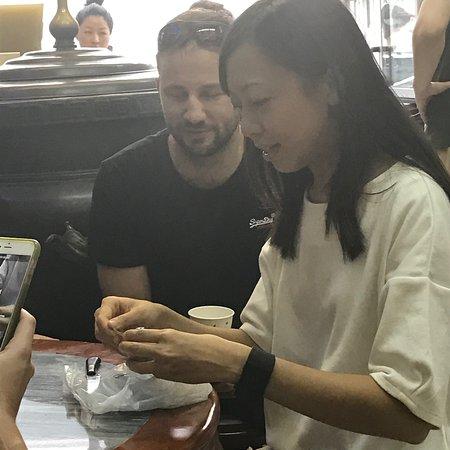 Giant wontons... - Picture of Hong Kong Foodie Tasting Tours, Hong ...