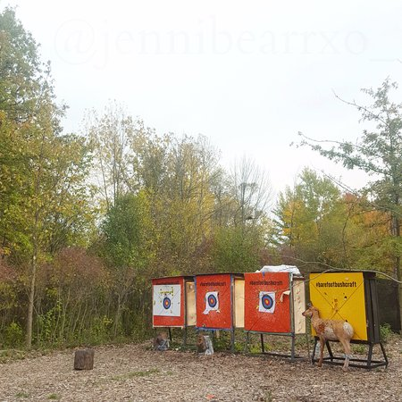 Thorold, Canada: The Archery Targets