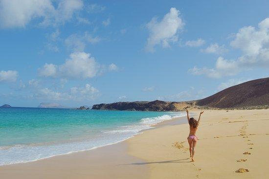 Playa De Las Conchas Canary Islands