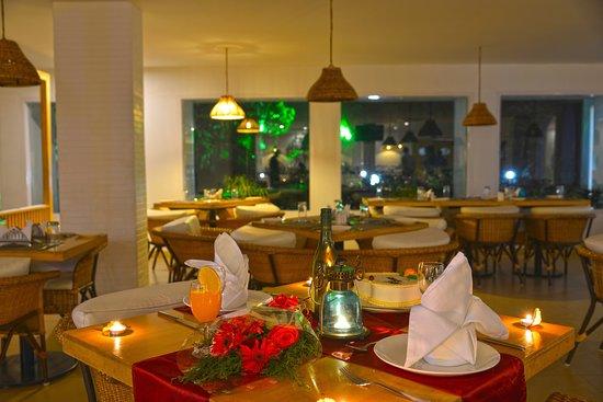 Romantic Dinner Table Decoration Picture Of Corbyn S Delight Port Blair Tripadvisor