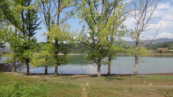 Ferentino, Ιταλία: Panorama del Lago di Canterno
