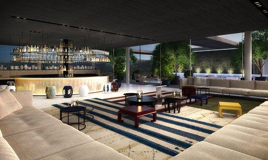 roomers rooftop bar photo de roomers baden baden. Black Bedroom Furniture Sets. Home Design Ideas