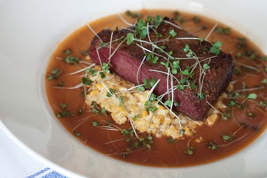 Egerton, UK: The Barrow House – Smoked slow-cooked brisket, creamed corn