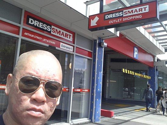 Onehunga, Nueva Zelanda: Me outside one of the entrances