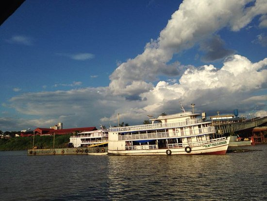 Boat trip on the Madeira River