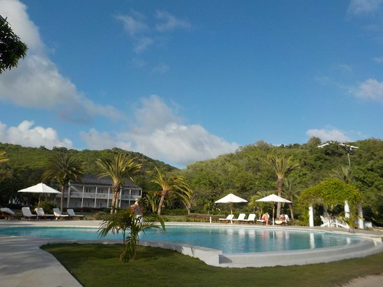 The Inn at English Harbour: Pool area