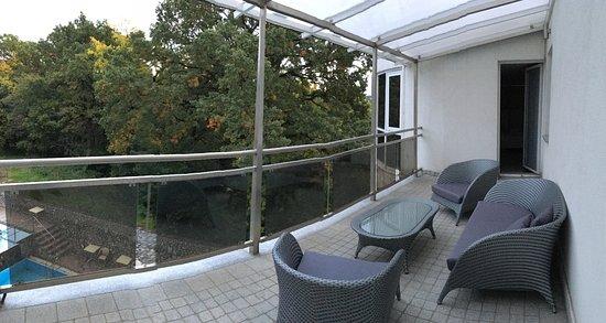 Bastya Wellness Hotel : Erkély
