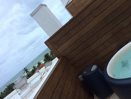 Winter Haven, Autograph Collection: Private hot tub, partial view and the smell of italian cooking from the hotels restaurant.