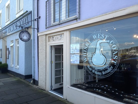 Shop front on Harbour Street, Tarbert.