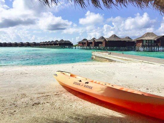 Anantara VeliMaldivesResort: always a good day for kayaking!