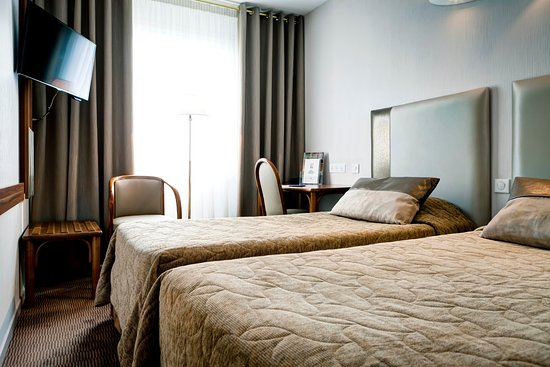 chambre twin - picture of hotel axotel lyon perrache, lyon