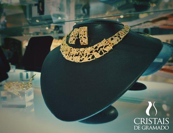de 24 mil modelos de jóias e semijóis グラマード cristais de