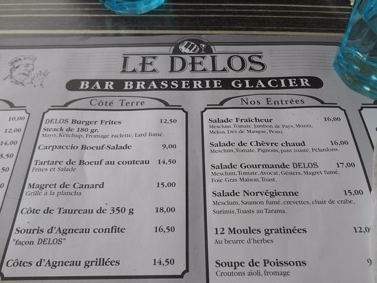 Restaurant Le Delos Grande Motte