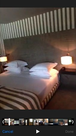 Hotel Square: Very comfortable beds