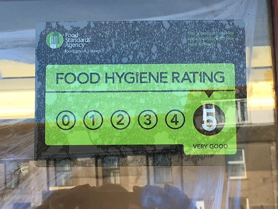 codfathers portland 5 star food hygiene