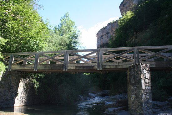 Parque Natural de la Sierra y Cañones de Guara: canyon