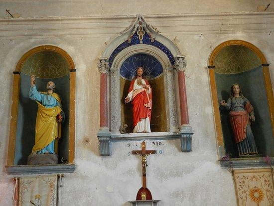 Calenzana, França: Statues