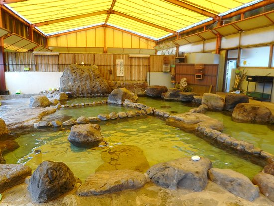 Hiji-machi, Japan: 温泉内湯船