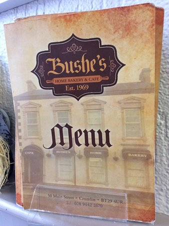 Crumlin, UK: Bushes Bakery