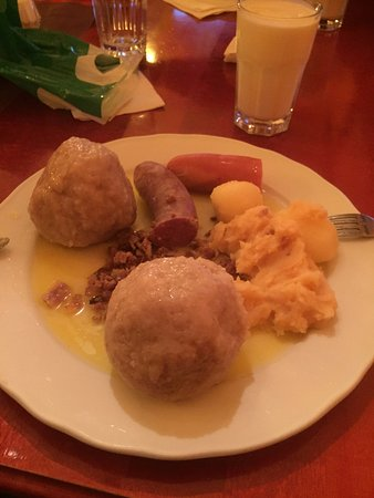 Ulsteinvik, Norvegia: Potato Ball