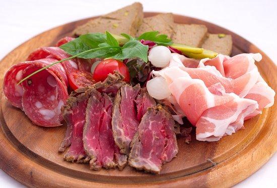 Красивые мясные закуски фото