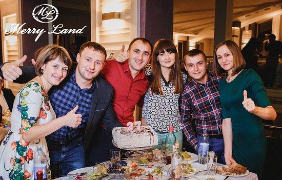 Horodenka, Ucrania: Довольные гости нашего заведения